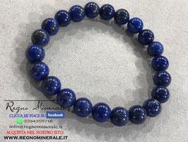 Lapislazzuli - Bracciale sfera (con 21 palline)