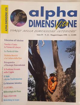 N° 21 - Rivista: Alpha Dimensione Vita