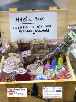 Magic Box per Rituale d'Amore, Kit livello avanzato Ha tutto ciò che occorre per una giusta Magia.