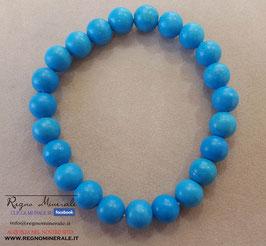 Magnesite Blu - Bracciale sfera
