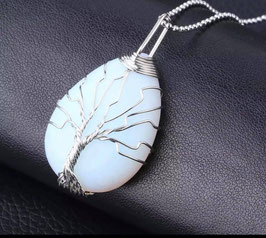 Opalina - Collanina Albero della vita
