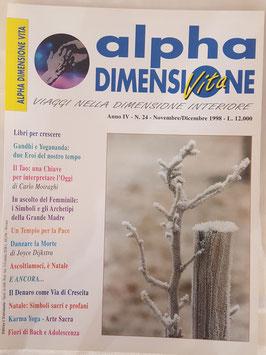 N° 24 - Rivista: Alpha Dimensione Vita