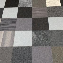 BoogieWoogie shades of grey tapijttegels