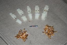 Japanblocksteckerset's 2,8mm Kontakte (2-3-4-6-9-polig)