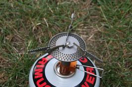 Micro Gaskocher wahlweise aus Edelstahl oder Titanium
