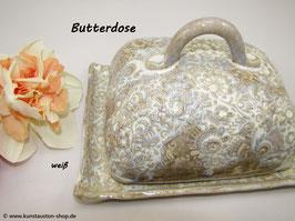 Butterdose, Blumenmuster klein
