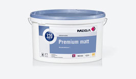 MEGA Premium matt 320 im 12,5l Gebinde weiß
