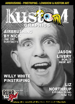 Pinstriping & Kustom Graphics Mag ISSUE #77