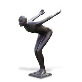 Bronzefigur ABSPRUNG