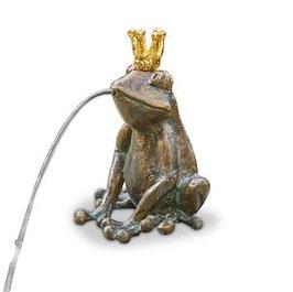 Bronzewasserspeier Froschkönig CHARLES