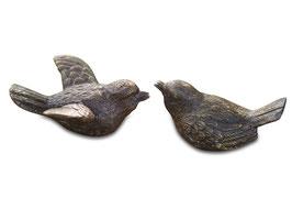 Bronzefigur Vogel SING & SANG