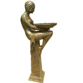 Bronzebrunnen CRYSTAL