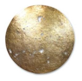 Bronzeobjekt HIMMELSSCHEIBE ø 75 cm