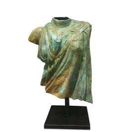 Bronzebüste RÖMISCHE STOLA