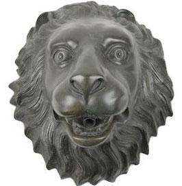 Bronzewasserspeier Löwe WASSERLÖWE