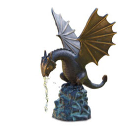Bronzewasserspeier CYRIL