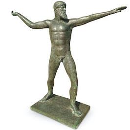 Bronzefigur POSEIDON / ZEUS vom Kap Artemision