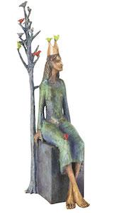 Bronzefigur PRINCESS