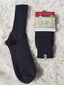 Soft Socken schwarz
