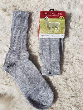 Soft Socken silbergrau