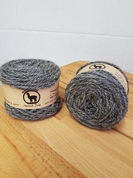 "Alpaka- Wolle ""Mittelgrau"""