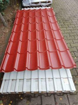Dakpanplaat Rood (polyester)