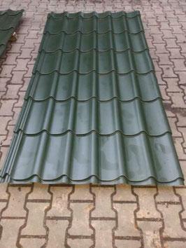 Dakpanplaat Groen (polyester)