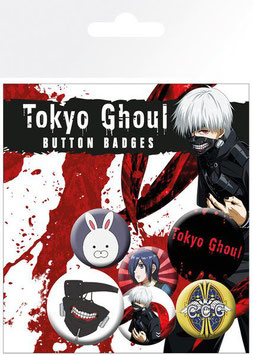 Tokyo Ghoul - Button-Pack