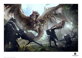 Monster Hunter - limitierter Kunstdruck