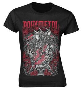 BABYMETAL Girlie-Shirt Rosewolf