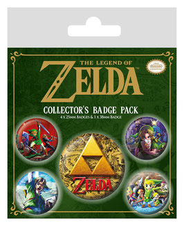 The Legend of Zelda - Button-Pack
