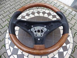 Original Wurzelholz/nuss Lederlenkrad Mercedes Benz W230