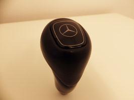Original Automatik Wählhebel W124 Final Edition Vogelaugenahorn / Leder mit Mercedes Emblem