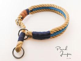 Halsband 'Bulin-Tampen Zugstopp natur'