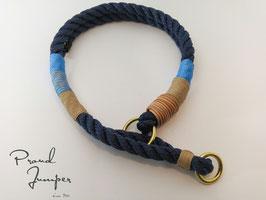 Halsband 'Tampen Zugstopp marine'