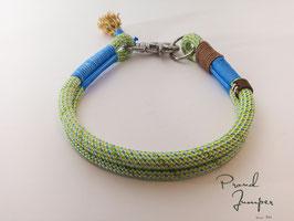 Halsband 'Prusik-duo- grün'