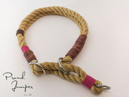 Halsband 'Tampen Zugstopp natur'
