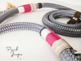 Führleine aus PPM-Seil in grau