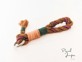 Achterwirbel braun-lila