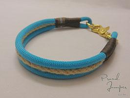 Halsband 'Kreuzklemm-Tampenherz'