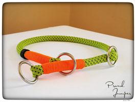 Zugstopp-Halsband 'Bulin-grün'