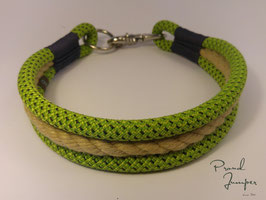 Halsband 'Bulin-grün'