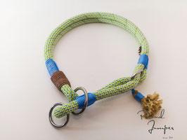 Zugstopp-Halsband 'Prusik-grün'