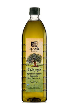 "SELLAS ""Extra Virgin"" olijfolie Kathe Mera"