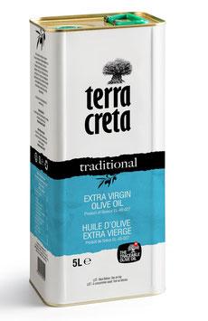 "Terra Creta ""EXTRA VIRGIN"" Olijfolie 5L"