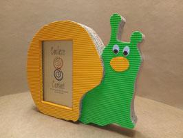 Cadre escargot  (carton ondulé) à poser ou à accrocher.
