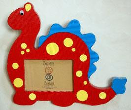 Cadre dinosaure  (carton ondulé)