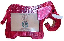 Cadre éléphant (papier de soie)