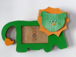 Cadre lion  (carton ondulé)