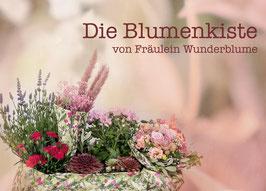 Gutschein Blumenkiste